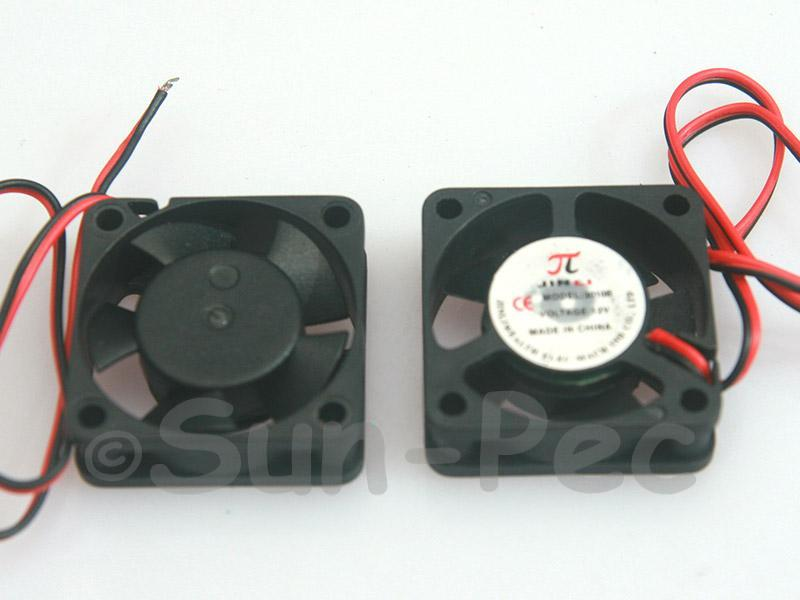 DC Cooling Fan 12V 200mA Sleeve Bearing 30x30x10mm 1pcs - 10pcs