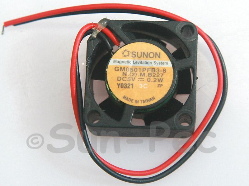 DC Cooling Fan 5V 32mA Sleeve Bearing 20x20x10mm 1pcs - 2pcs