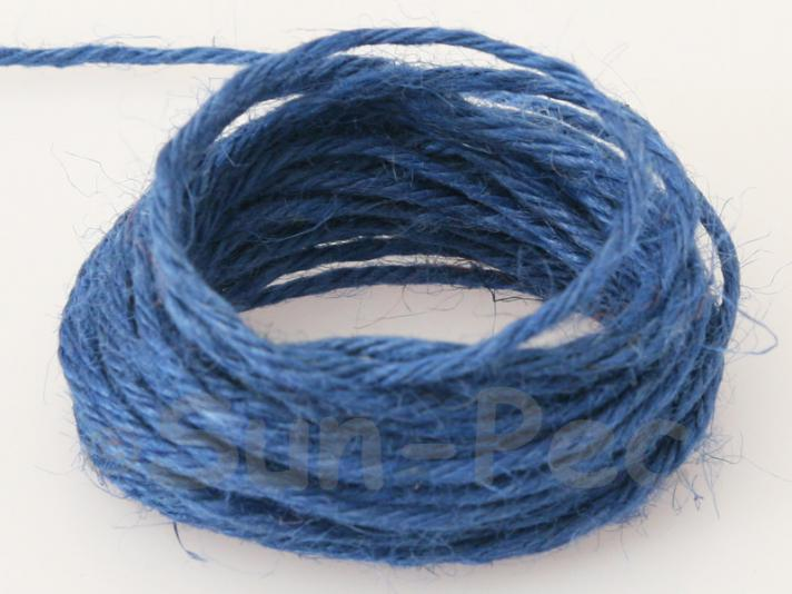 Sapphire 2mm Coarse Twisted Hemp Jute Cord 5m - 50m