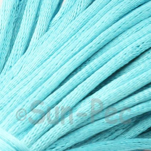 Bright Blue 2.5mm Satin Rattail Knotting Cord 5m - 20m