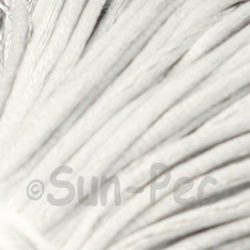 Gray 2.5mm Satin Rattail Knotting Cord 5m - 10m