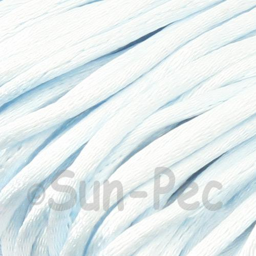 Light Blue 2.5mm Satin Rattail Knotting Cord 5m - 10m
