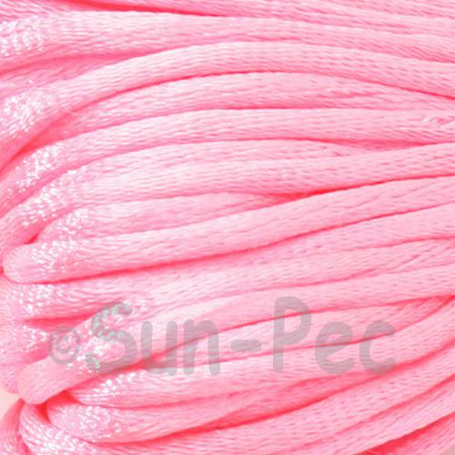 Light Rose 2.5mm Satin Rattail Knotting Cord 5m - 10m