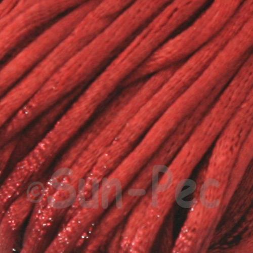 Mahogany 2.5mm Satin Rattail Knotting Cord 5m - 10m