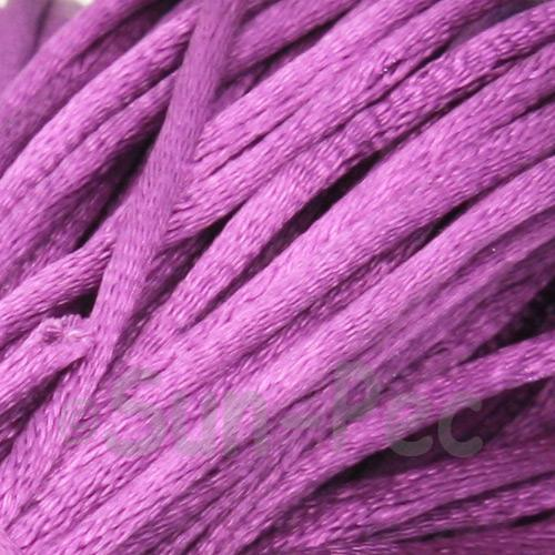 Purple 2.5mm Satin Rattail Knotting Cord 5m - 20m