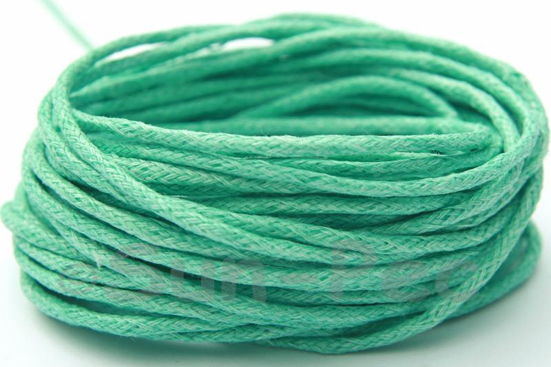 Dark Teal 2mm Smooth Coated Hemp Cord 2m - 50m