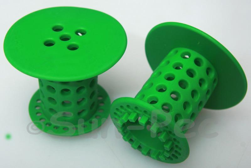 Hair Catcher for Shower/Basin Drainpipes Green 1pcs - 4pcs