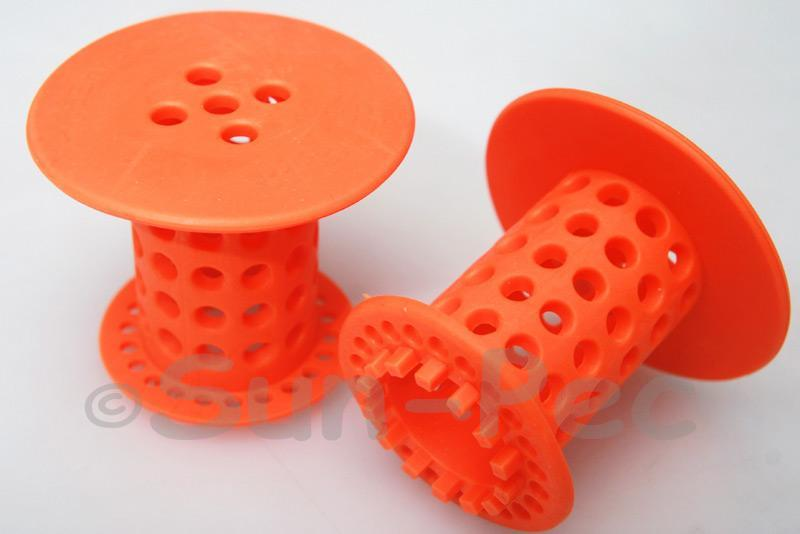 Hair Catcher for Shower/Basin Drainpipes Orange 1pcs - 4pcs