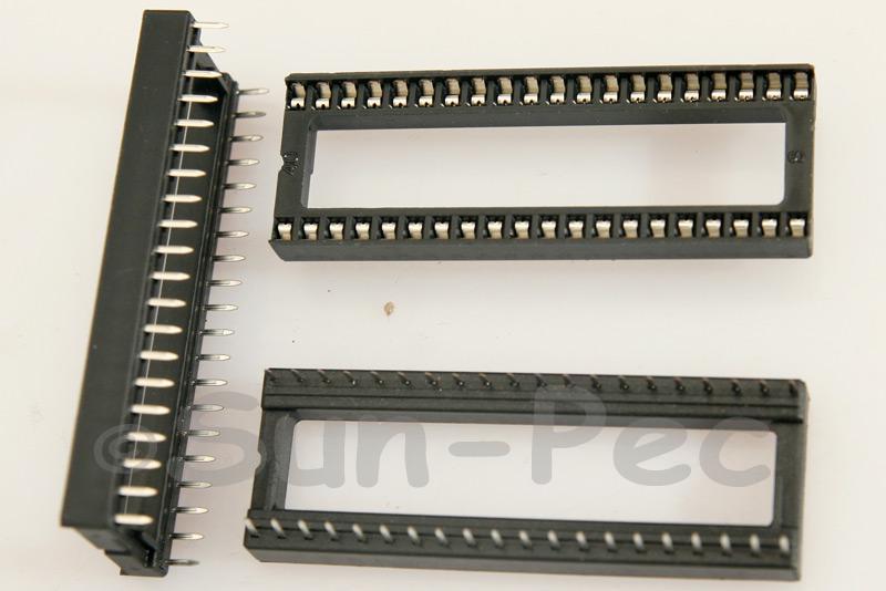 IC Socket Solder Type DIP40 2pcs - 10pcs