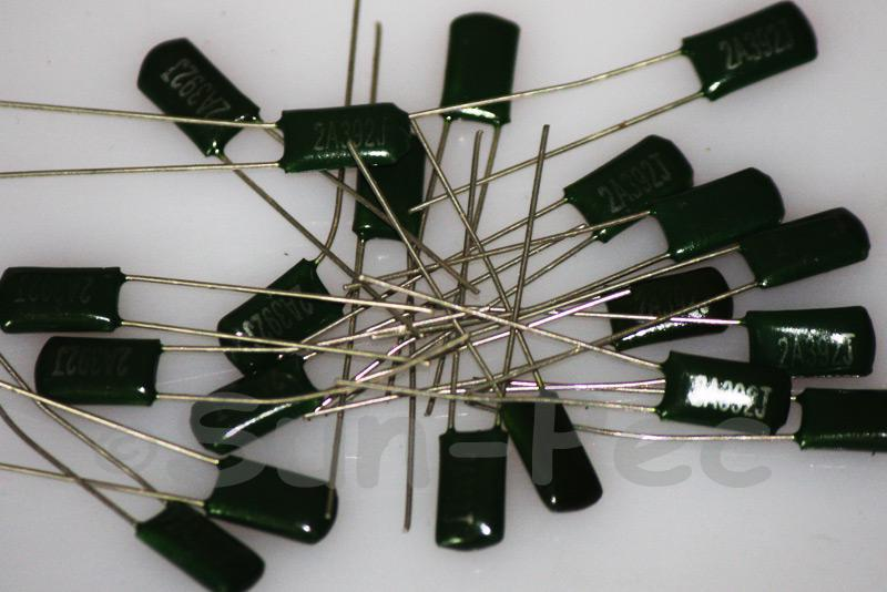 392J Polyester Poly Film Capacitor 100V +-5% 0.0039uf Radial 11 x 4 x 6mm 10pcs - 40pcs