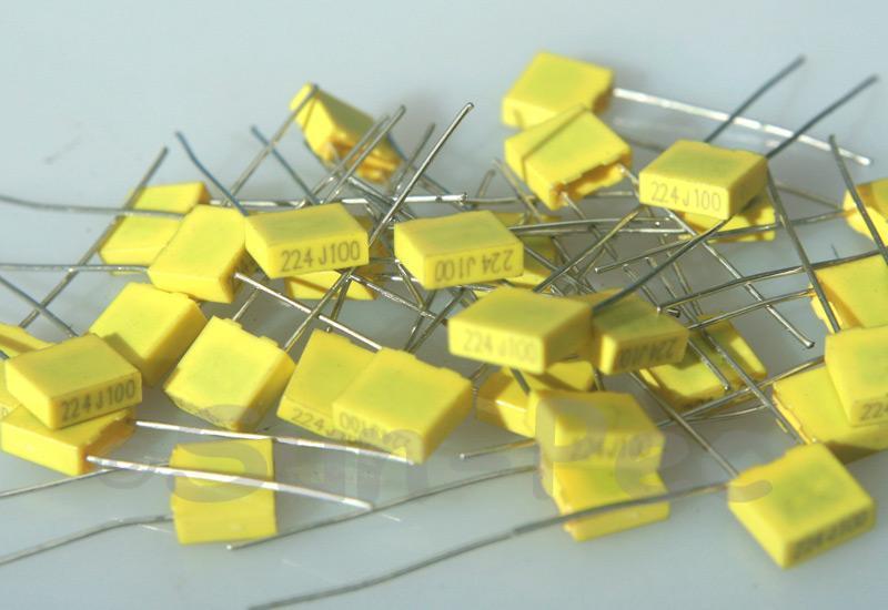 224J Polyester Film Capacitor CBB 100V +-5% 0.22uf 5pcs - 40pcs