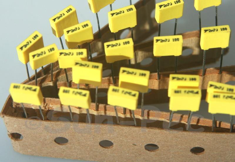 272J Polyester Film Capacitor CBB 100V +-5% 0.0027uf 5pcs - 40pcs