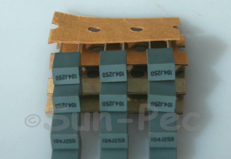 104J Polyester Film Capacitor CBB 250V +-5% 0.1uf 5pcs - 40pcs