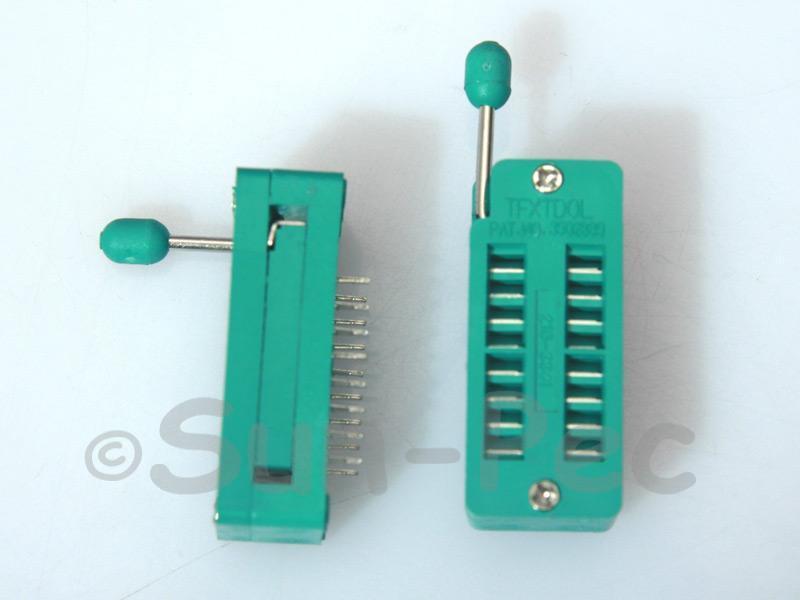 Universal ZIF DIP IC test Socket ZIF16 1pcs - 4pcs