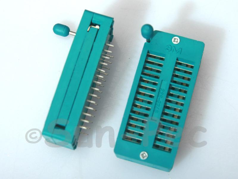Universal ZIF DIP IC test Socket ZIF28 1pcs - 2pcs