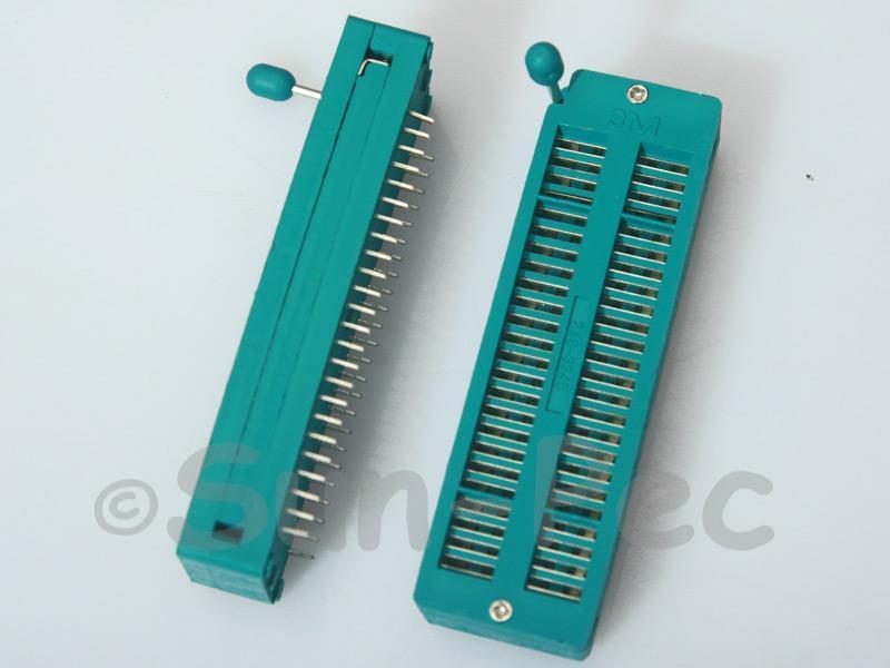 Universal ZIF DIP IC test Socket ZIF48 1pcs - 2pcs