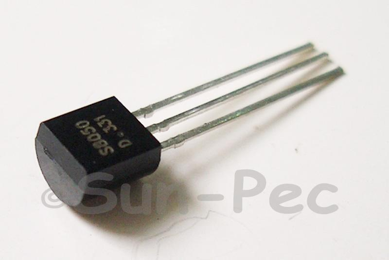 S8050-D General Purpose Transistor 40V 1.5A NPN TO92 10pcs - 100pcs