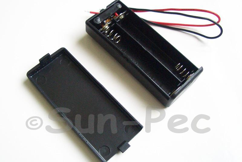 Battery Box with wire and On/Off switch 3V AAA x 2 1pcs - 6pcs