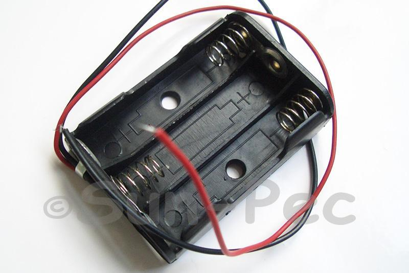 Battery Box with wire 4.5V AAA x 3 1pcs - 8pcs