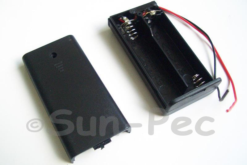 Battery Box with wire and On/Off switch 3V AA x 2 1pcs - 6pcs