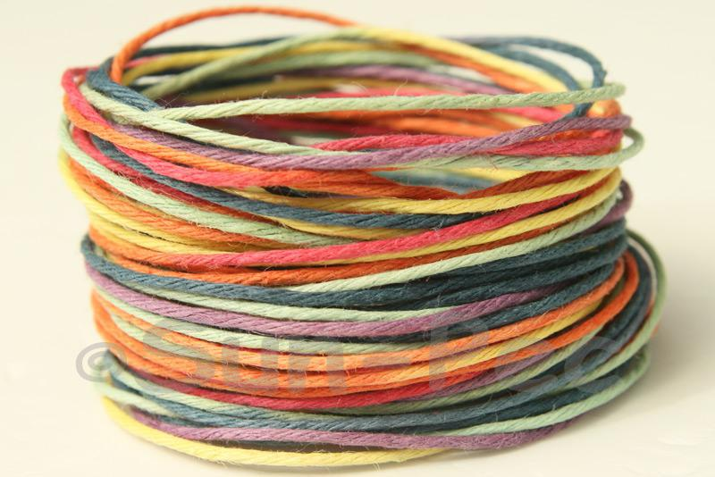 Gradient #1 1mm Twisted Gradient Hemp Cord 5m - 50m