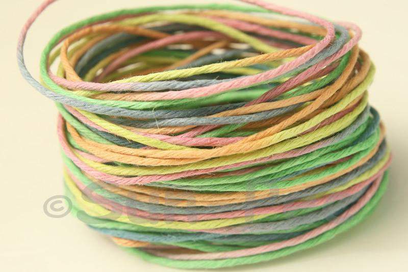 Gradient #9 1mm Twisted Gradient Hemp Cord 5m - 20m