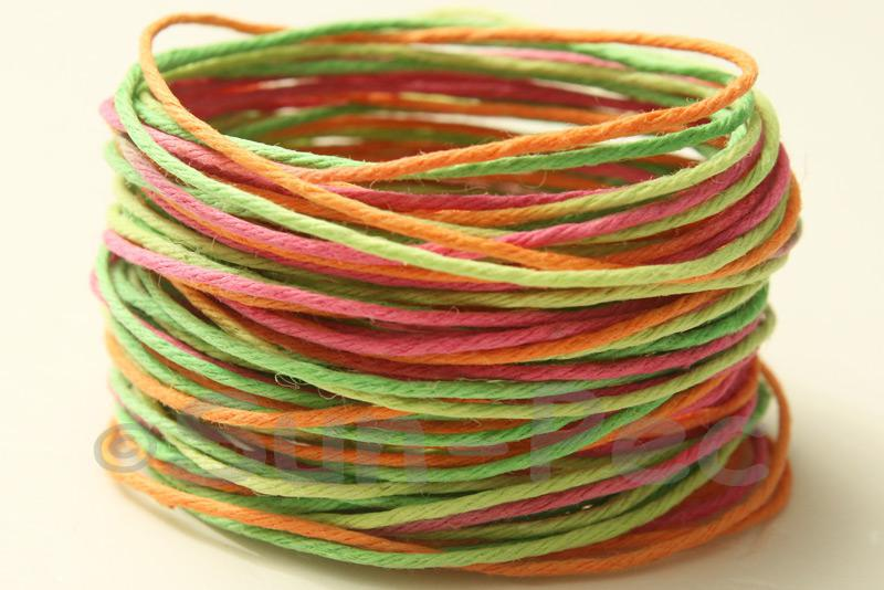 Twisted-Color-Gradient-1mm-HEMP-Craft-Jewelry-String-Rustic-Ethnic-Rope-5-20yr