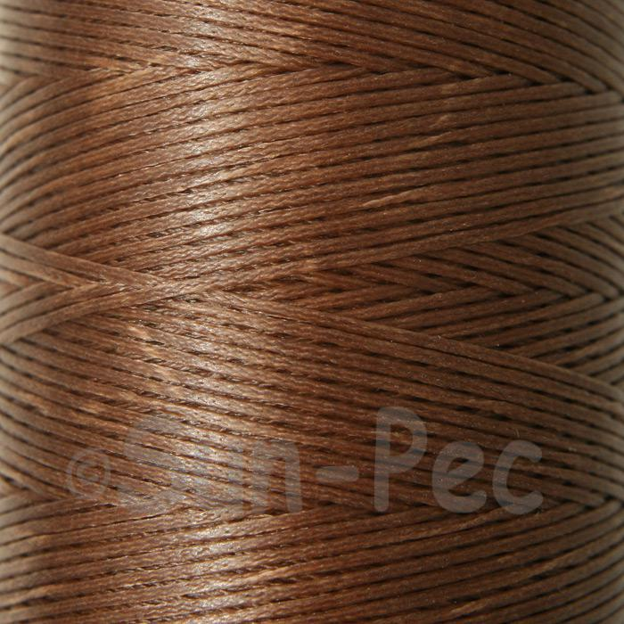 Coffee 1mm Waxed Linen 150D Hand Stitching Thread 5m - 240m