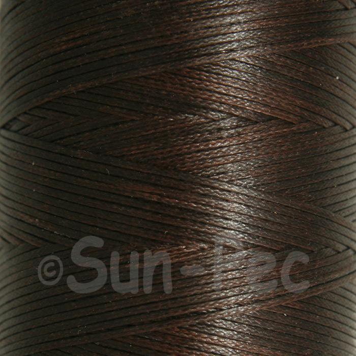 Dark Coffee 1mm Waxed Linen 150D Hand Stitching Thread 5m - 240m