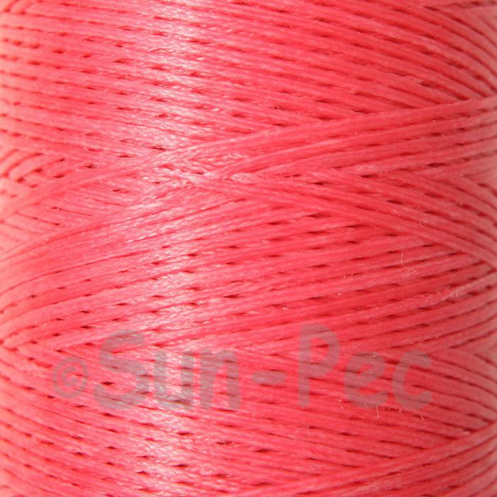 Hot Pink 1mm Waxed Linen 150D Hand Stitching Thread 5m - 240m