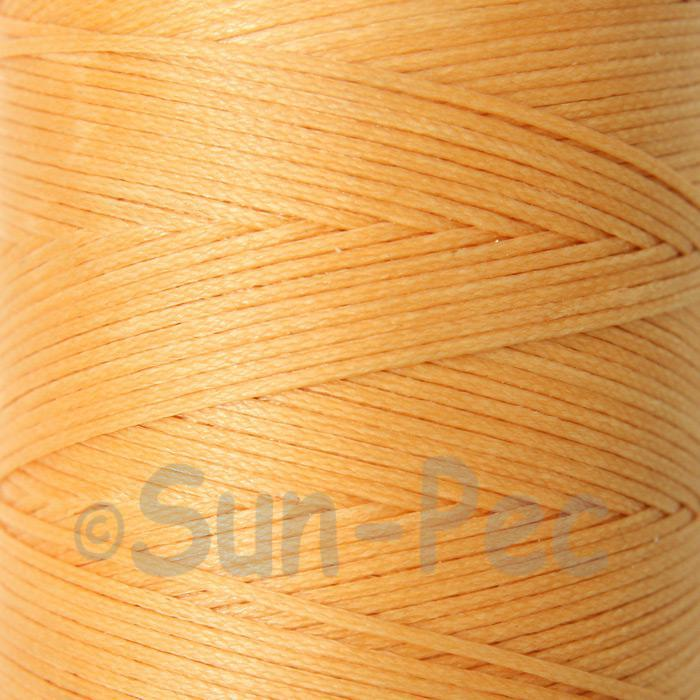 Light Orange 1mm Waxed Linen 150D Hand Stitching Thread 5m - 100m