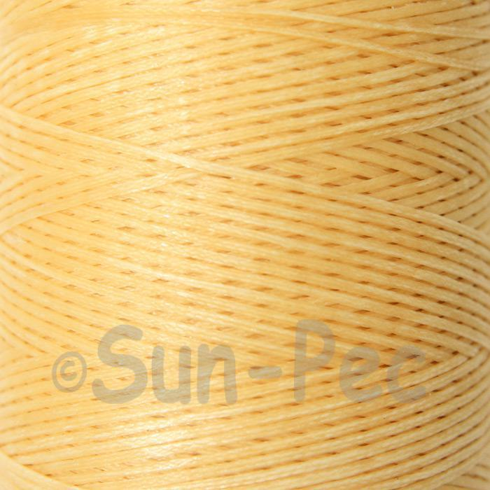 Mustard 1mm Waxed Linen 150D Hand Stitching Thread 5m - 100m