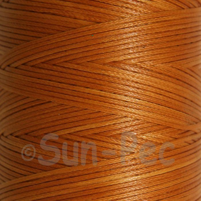 Orange Tan 1mm Waxed Linen 150D Hand Stitching Thread 5m - 240m