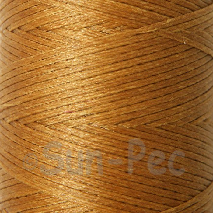 Yellow Coffee 1mm Waxed Linen 150D Hand Stitching Thread 5m - 100m