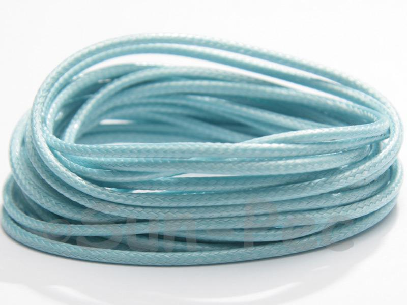 Aqua 2mm Coated Polyester Cord (snakeskin style) 5m - 20m