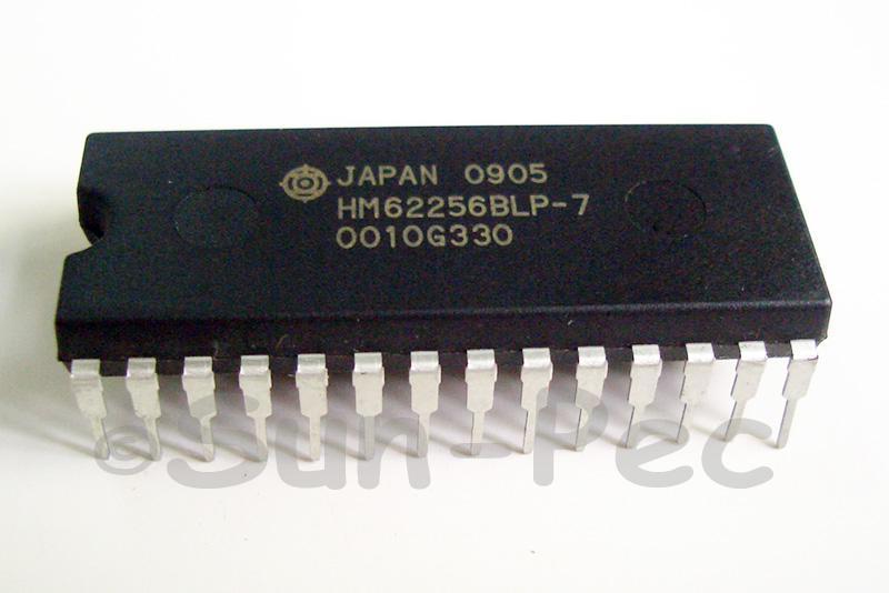 HM62256BLP-7 HITACHI 256k SRAM (32-kword x 8-bit) 5V DIP-28 1pcs