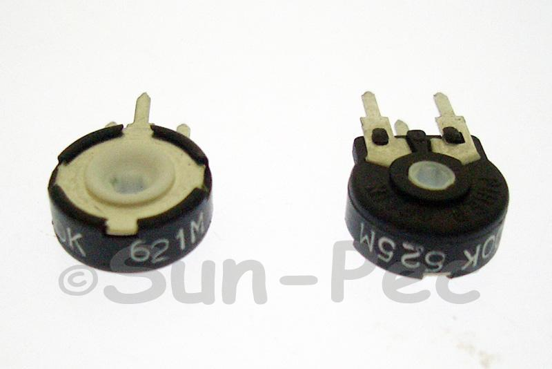 PT10MH01-104A2020 Piher Trimmer Potentiometer 100K Ohm 5pcs - 50pcs
