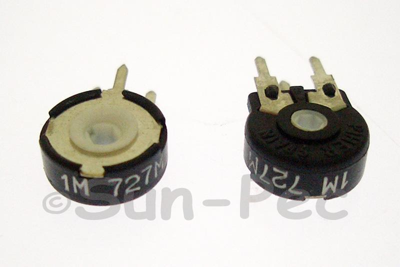 PT10MH01-105A2020 Piher Trimmer Potentiometer 1M Ohm 5pcs - 50pcs