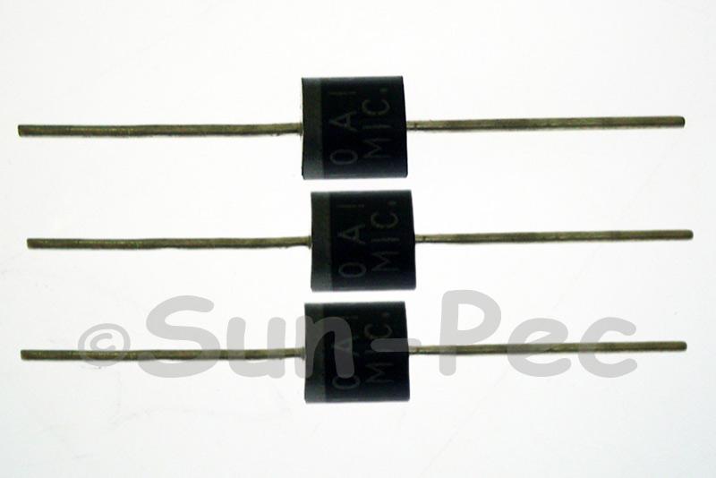 10A10 Silicon Rectifier Diodes R-6 1000V 10A 10pcs - 40pcs
