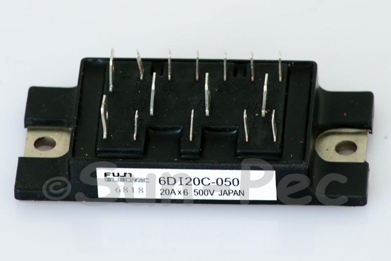 6DI20C-050 FUJI POWER TRANSISTOR MODULE 500V 120W 20A NPN 1pcs