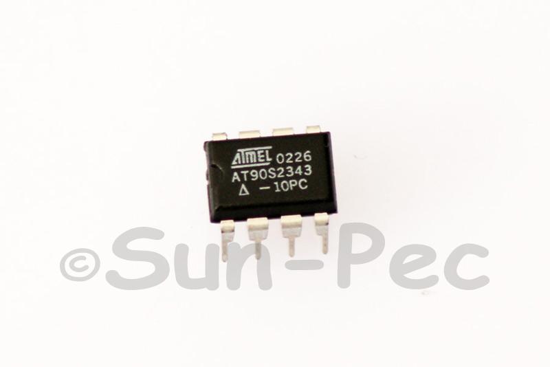 AT90S2343-10PC Amtel 8-Bit Microcontroller with 2K Bytes Programmable Flash 5V 30mA DIP-8 1pcs