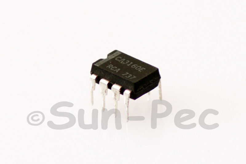 CA3160E Intersil BiMOS Operational Amplifier IC 8V to -0.5V 1mA DIP8 2pcs