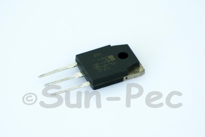 ET190 FUJI Triple diffused planer power darlington Transistor 600V 80W 8A NPN TO-3P 1pcs