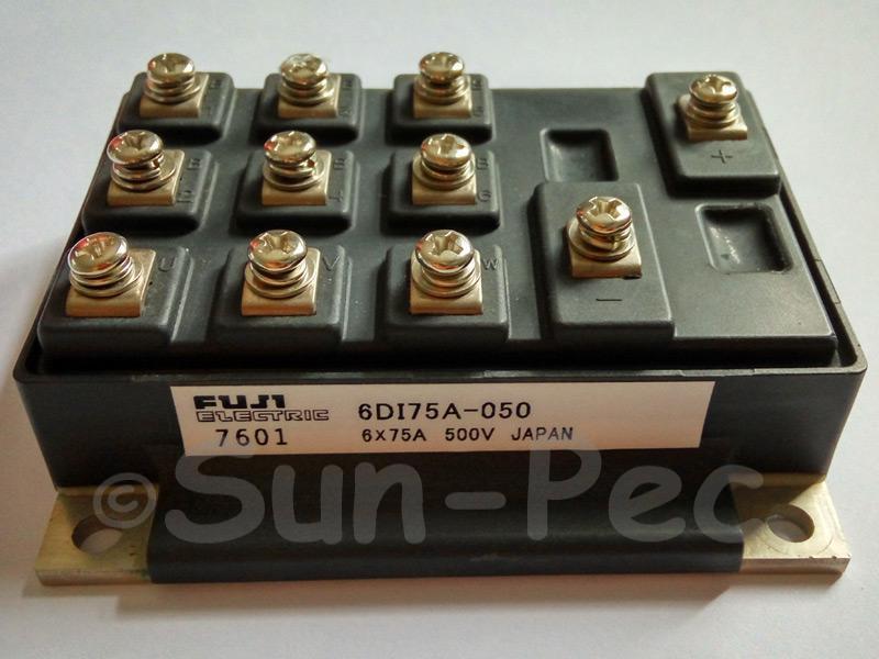 6DI75A-05 FUJI 6-channel POWER TRANSISTOR Module 500V 350W 75A NPN 1pcs