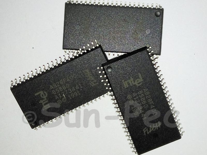 AB28F400-B5B80 INTEL 4-MBIT SmartVoltage BOOT BLOCK FLASH MEMORY SOP-44 2pcs