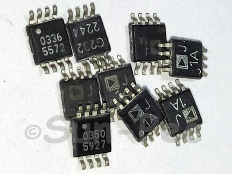 AD8313ARM AD M 0.1 GHz-2.5 GHz 70 dB Logarithmic SOP-8 3pcs