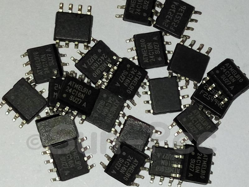 AT24C16N ATMEL Octal Edge-Triggered D-Type SOP-8 5pcs - 10pcs