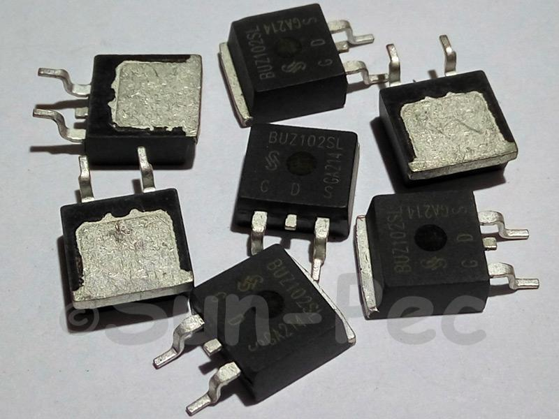 BUZ102S INFINEON SIPMOS Power Transistor 55V 47A TO-236 2pcs