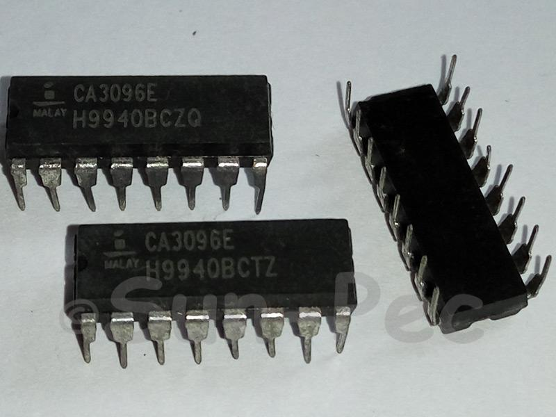 CA3096E INTERSIL NPN/PNP Transistor Arrays DIP16 1pcs