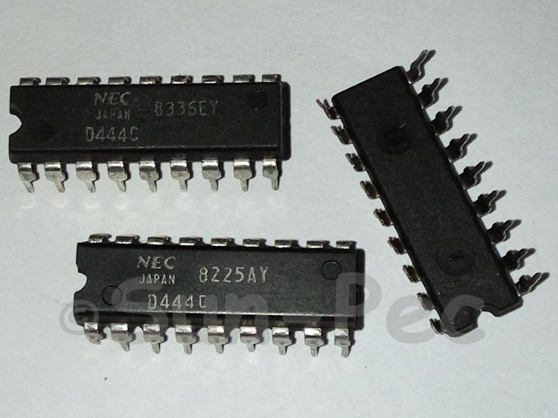 D4464C-15L uPD4464 NEC 8192 x 8-BIT STATIC CMOS RAM -0.5V to 7V 1W DIP-28 1pcs
